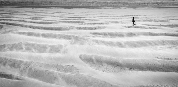 Coups de vent sur les plages de Berck