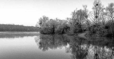 Paysages de rivières et d'étangs